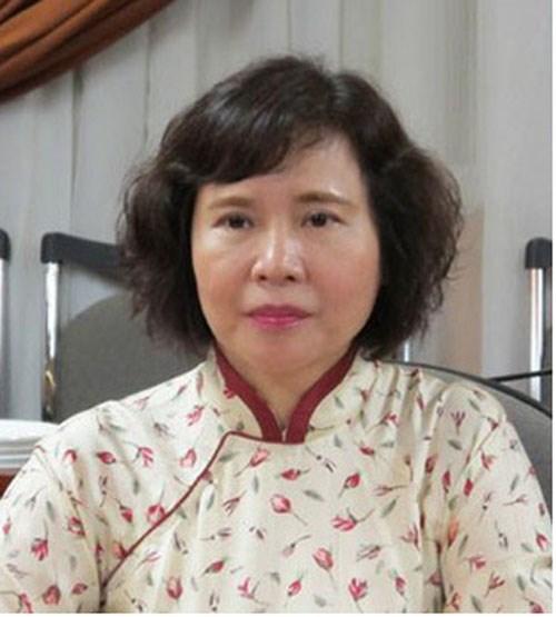 Cựu Thứ trưởng Bộ Công thương Hồ Thị Kim Thoa.