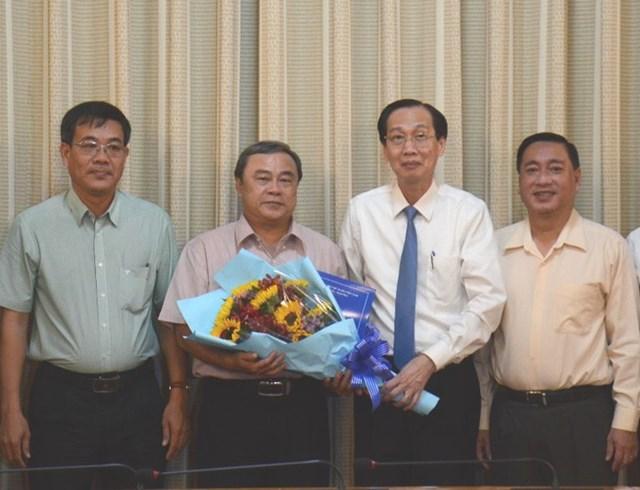 Ông Trần Quang Bá được điều động đến nhận công tác tại Thành ủy TP HCM. Ảnh: PLO.