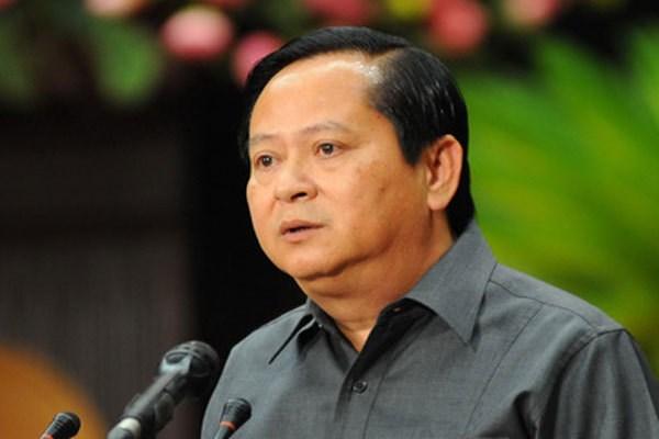 Nguyên Phó Chủ tịch UBND TP Hồ Chí Minh Nguyễn Hữu Tín.