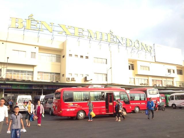 Bến xe miền Đông đã dừng toàn bộ các chuyến xe đi Đà Nẵng.