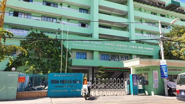 Bệnh viện Đà Nẵng nơi điều trị các bệnh nhân.