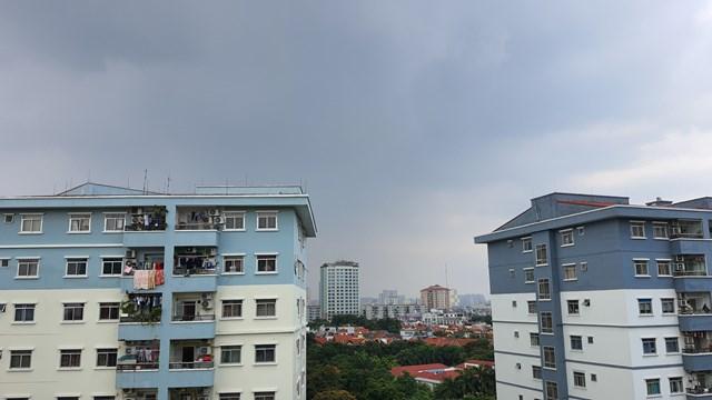 Ngày 29/7 chất lượng không khí Hà Nội được cải thiện, nhưng vẫn ở mức kém Ảnh: M.Q.