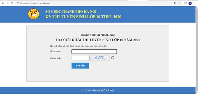Hà Nội chính thức công bố điểm thi vào lớp 10 THPT công lập - Ảnh 2