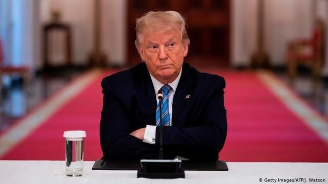 Tổng thống Mỹ Donald Trump trải qua một tuần khó khăn.