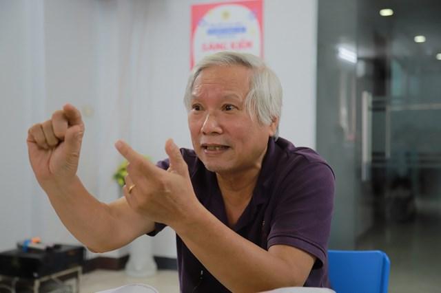PGS. TS Nguyễn Văn Huy.