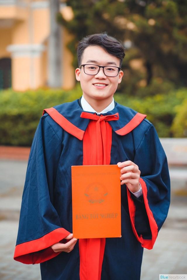 Học sinh Vũ Quốc Huy.