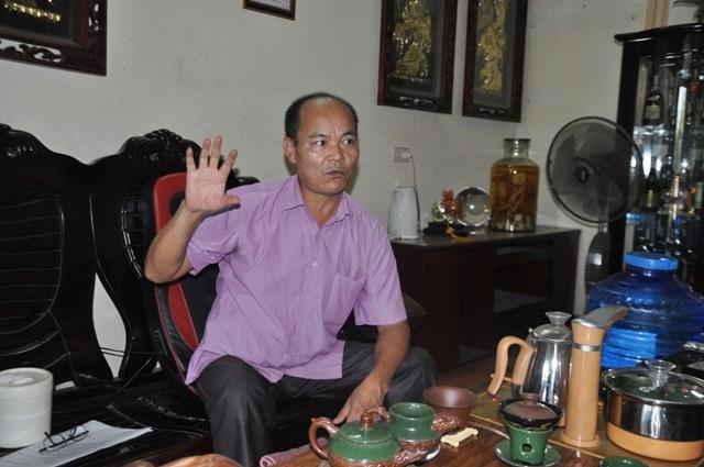 Ông Trần Văn Hậu phản ứng trước xử lý của ngân hàng và phán quyết của tòa án.
