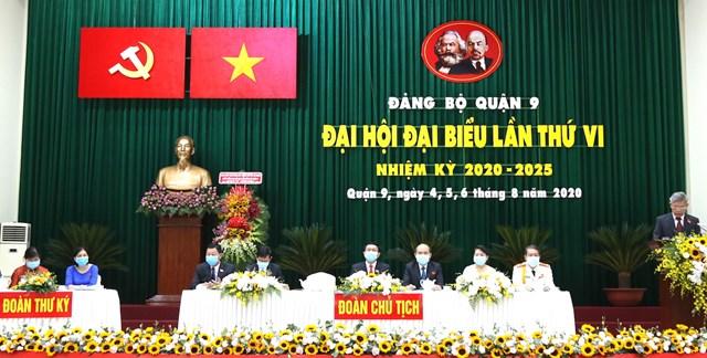 Đại hội đại biểu quận 9 nhiệm kỳ 2020-2025.