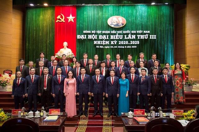 Ban Chấp hành Đảng bộ Tập đoàn khóa III, nhiệm kỳ 2020 – 2025.