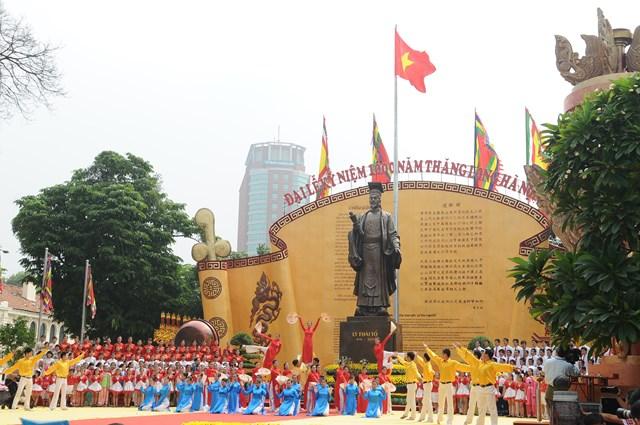 Nhiều hoạt động kỷ niệm 1010 năm Thăng Long - Hà Nội - Ảnh 1