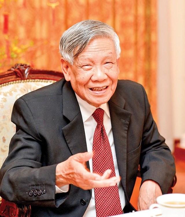 Nguyên Tổng Bí thư Lê Khả Phiêu (1931 - 2020). Ảnh: Thế Dũng.