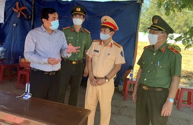 Quảng Nam: Bí thư Tỉnh ủy kiểm tra công tác phòng, chống dịch - Ảnh 1