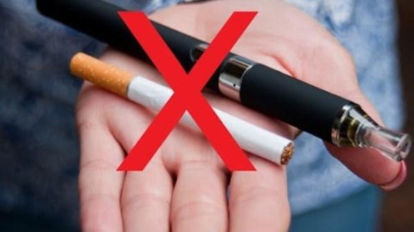 Cần coi thuốc lá thế hệ mới là sản phẩm bị cấm sử dụng.