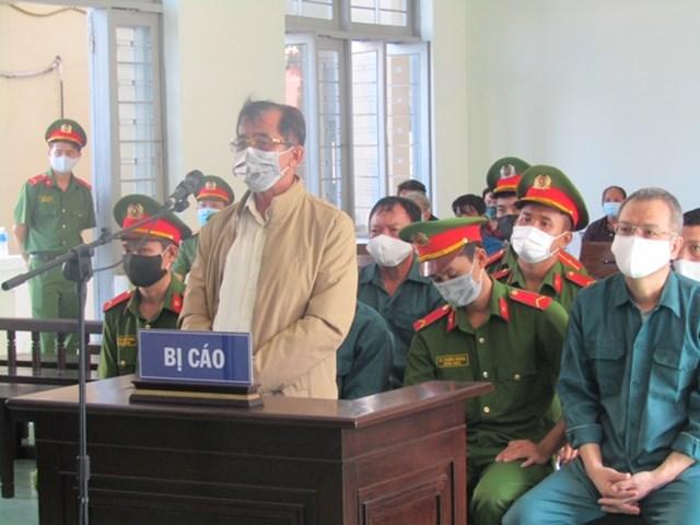 Bị cáo Đỗ Ngọc Điệp, nguyên Chủ tịch UBND TP Phan Thiết. Ảnh Lý Nam.