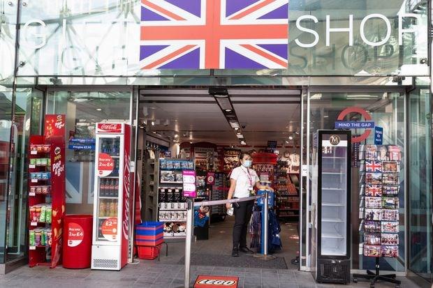 Một cửa hàng tại thủ đô London, Anh Nguồn: Market Watch.
