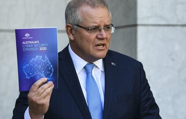 Thủ tướng Scott Morrison công bố Chiến lược An ninh mạng 2020 của Australia.