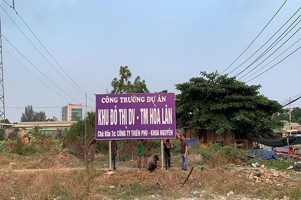 Dự án Hòa Lân bị chết lâm sàng nhiều năm nay, gây thiệt hại khủng cho Công ty Kim Oanh.