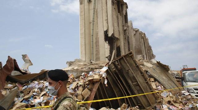 Vụ nổ ở Beirut gây nhiều thiệt hại về người và của. Nguồn: IndianExpress.