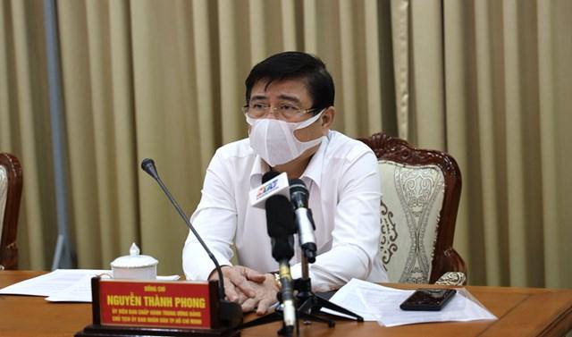 Chủ tịch UBND TP HCM chỉ đạo tại cuộc họp Ban Chỉ đạo phòng chống dịch Covid-19 TP.