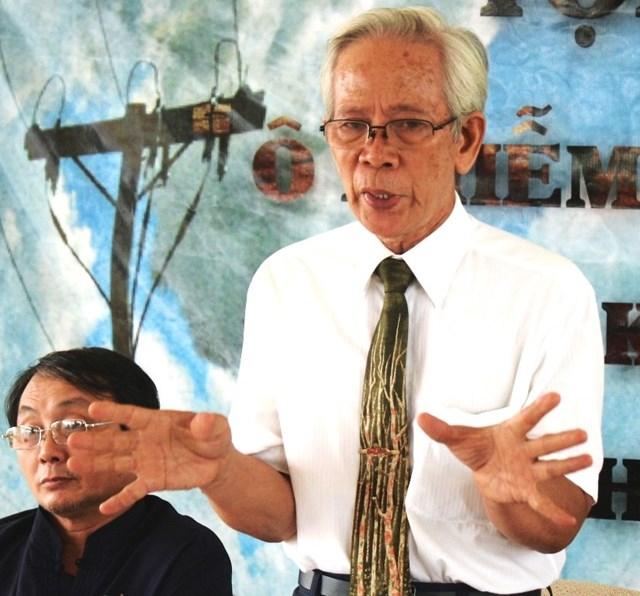 PGS.TS Nguyễn Lê Ninh, Ủy viên Ủy ban MTTQ Việt Nam TP HCM.
