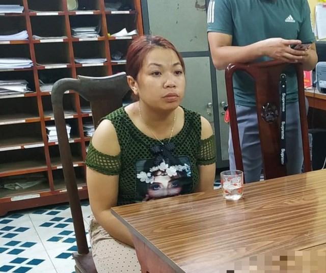 Bị can Nguyễn Thị Thu bị khởi tố về tội chiếm đoạt người dưới 16 tuổi.