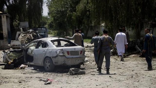 Hiện trường vụ đánh bom ở Afghanistan. (Nguồn: Getty).