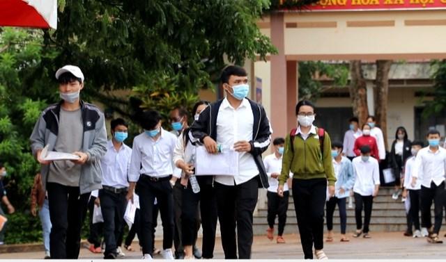 Kỳ thi đợt 1 tại Đắk Lắk có số thi sinh tham gia đạt 99%.