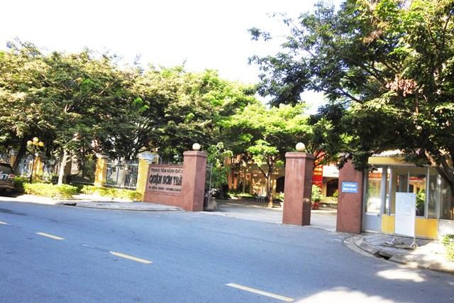 Trung tâm hành chính quận Sơn Trà - nơi có trụ sở Chi nhánh Văn phòng ĐKĐĐ quận Sơn Trà. Ảnh Bình Nguyên.
