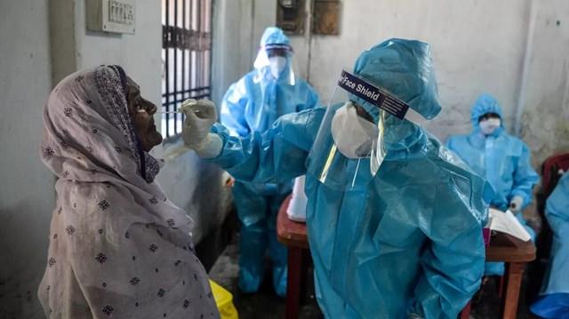 Ấn Độ đã ghi nhận số ca nhiễm mới Covid-19 trong ngày cao nhất thế giới trong hôm 30/8. Nguồn: Getty.