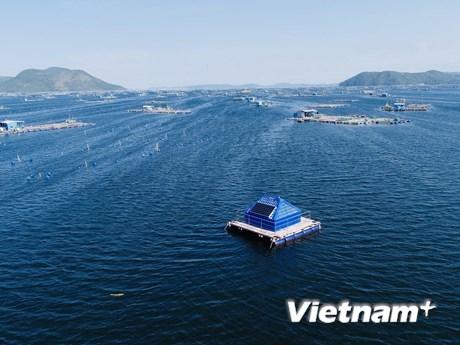 Hệ thống giám sát môi trường nước biển ứng dụng công nghệ tiên tiến ở Phú Yên. (Ảnh: UTS Rapido Việt Nam).