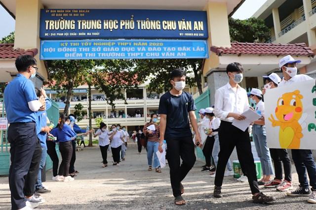 Điểm thi trường THPT Chu Văn An, TP Buôn Ma Thuột.