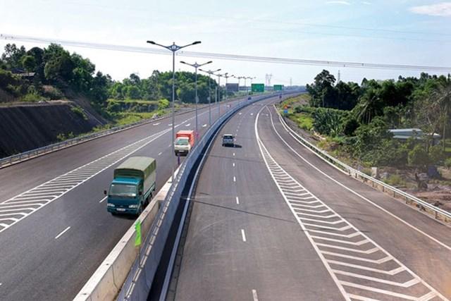 Cao tốc Bắc - Nam đoạn Vĩnh Hảo - Phan Thiết.