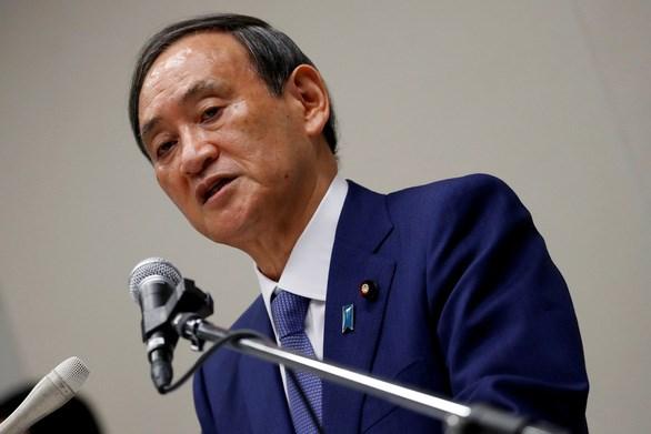Chánh Văn phòng Nội các Nhật Bản Yoshihide Suga hiện là ứng viên sáng giá nhất thay thế ông Shinzo Abe, người vừa tuyên bố từ chức hôm 28/8. Ảnh: Reuters.