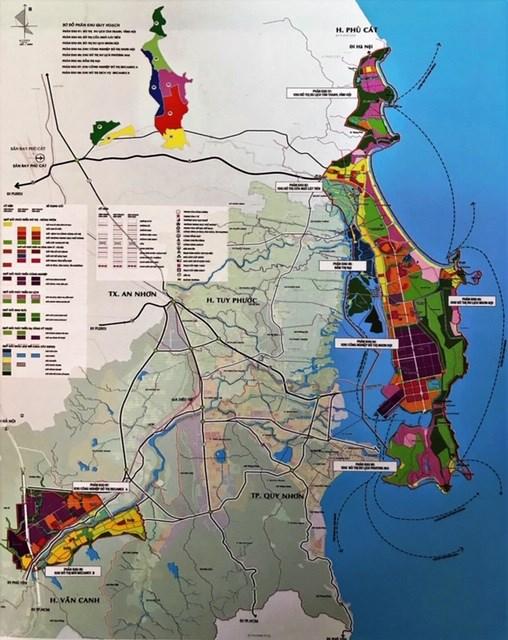 Quy hoạch phân khu xây dựng tỷ lệ 1/2000 Khu đô thị du lịch Nhơn Hội.