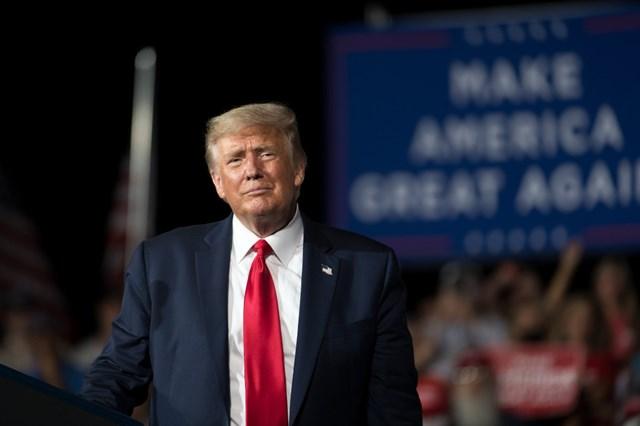 Tổng thống Mỹ Donald Trump. (Nguồn: AP).