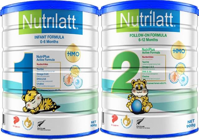 Sữa có công thức Nutrilatt 1 và Nutrilatt 2 không đảm bảo chất lượng chỉ tiêu sắt và kẽm.