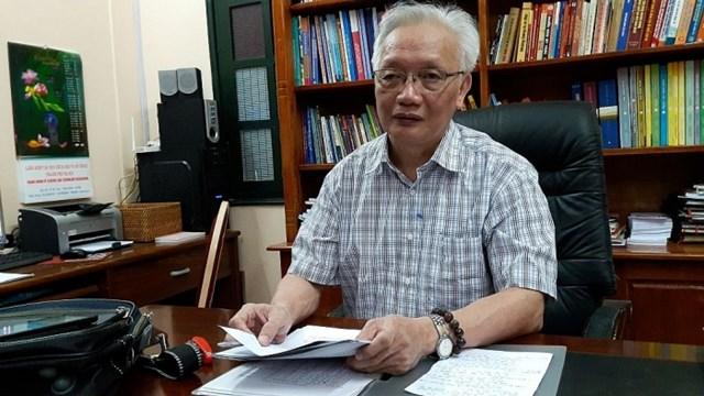 Nhà giáo Nguyễn Tùng Lâm.