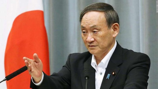 Ông Yoshihide Suga.