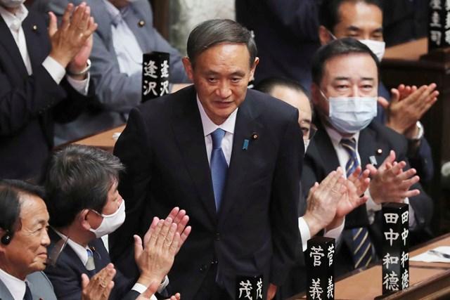 Tân Thủ tướng Nhật Bản Suga Yoshihide. Nguồn: Kyodo.