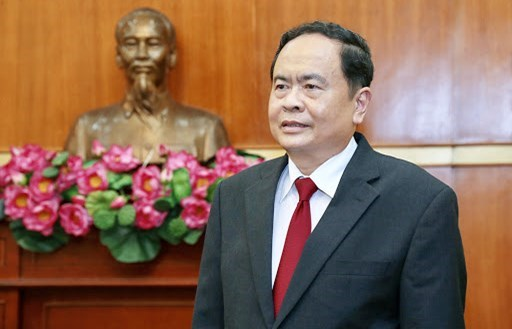 Chủ tịch UBTƯ MTTQ VIệt Nam Trần Thanh Mẫn.