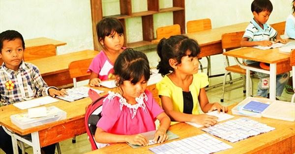 Được dạy tăng cường tiếng Việt, trẻ em đã mạnh dạn, tự tin hơn