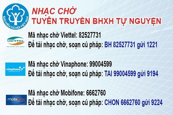 BHXH tỉnh Quảng Nam: Tuyên truyền bảo hiểm tự nguyện qua nhạc chờ điện thoại di động - Ảnh 1
