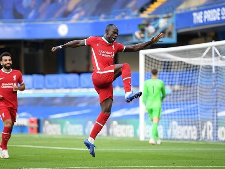Mane mang chiến thắng về cho Liverpool. (Nguồn: Getty Images).
