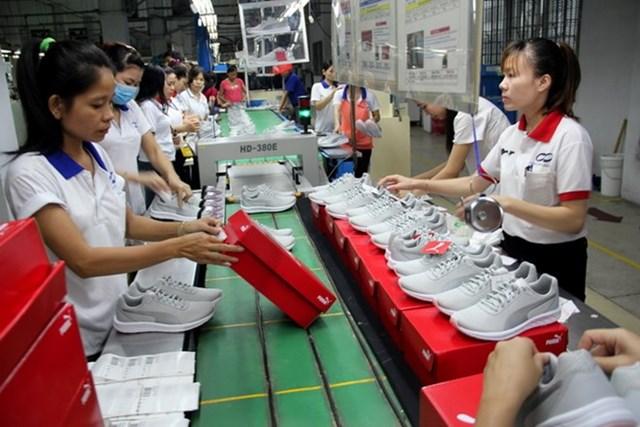 Da giày Việt Nam là mặt hàng lợi thế vào thị trường châu Âu khi EVFTA chính thức có hiệu lực.
