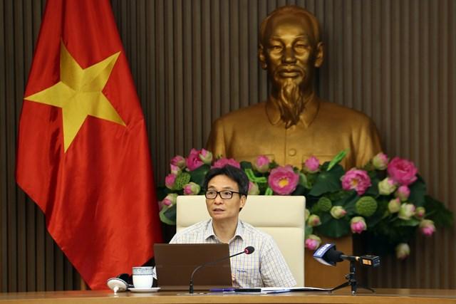 Phó Thủ tướng Vũ Đức Đam chủ trì cuộc họp Ban Chỉ đạo quốc gia phòng, chống Covid-19, chiều 24/9. Ảnh: VGP/Đình Nam.