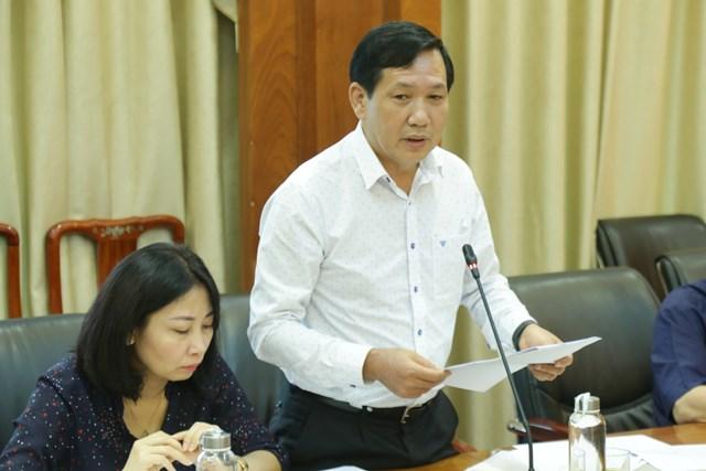 Ông Trần Văn Sinh. Ảnh: Quang Vinh.
