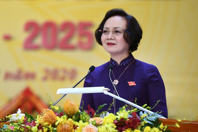 Thứ trưởng Bộ Nội vụ Phạm Thị Thanh Trà. Ảnh: Zing.