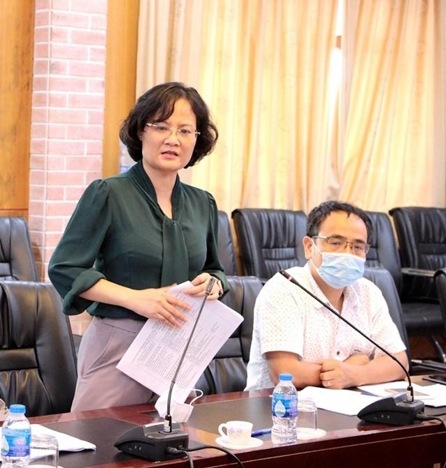 Bà Nguyễn Thị Việt Hương.