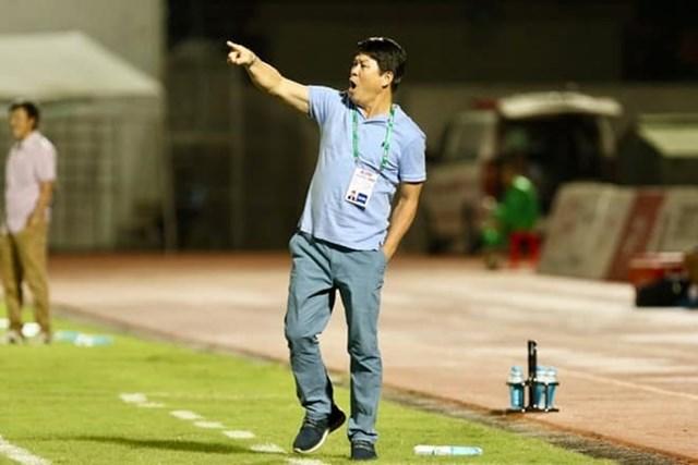 Vũ Tiến Thành hiện tại đang giúp Sài Gòn FC.