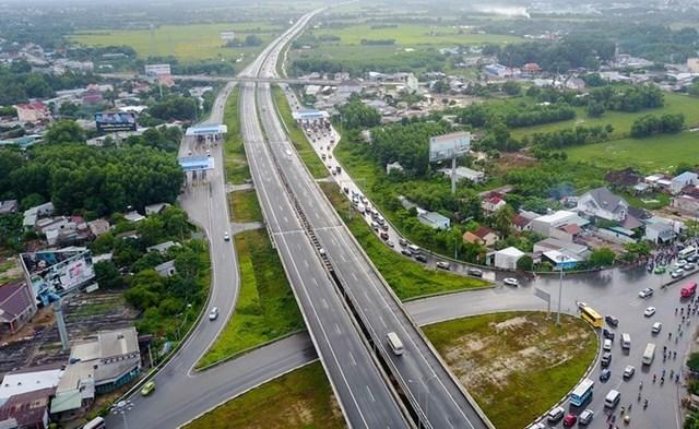 Cao tốc TP HCM - Long Thành - Dầu Giây hiện nay sẽ kết nối với cao tốc Phan Thiết - Dầu Giây. Ảnh: Quỳnh Trần/VnEpress.